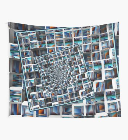Abstract Infinity Wall Tapestry