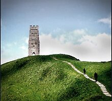 Glastonbury Tor in Somerset by Andy Coleman