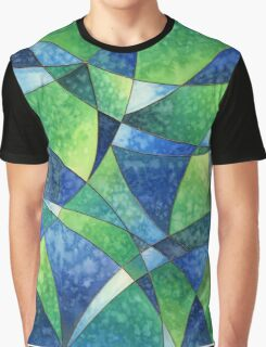 Deep Ocean Abstract Graphic T-Shirt