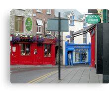 Irish Street Canvas Print