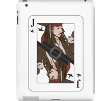 the Jack of Sparrow iPad Case/Skin