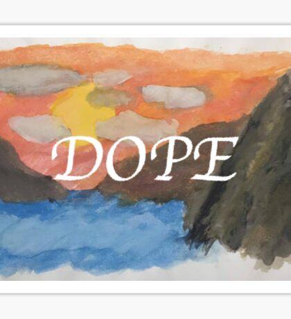 DOPE Sticker