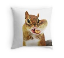 Would you have a smaller peanut?... Throw Pillow