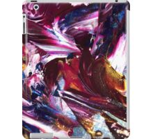 Colourful Paint Abstract iPad Case/Skin
