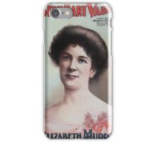 Performing Arts Posters Joseph Hart Vaudeville Co direct from Weber Fields Music Hall New York City 0449 iPhone Case/Skin