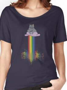 Nyan Sage Women's Relaxed Fit T-Shirt