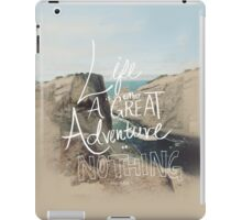 Great Adventure iPad Case/Skin