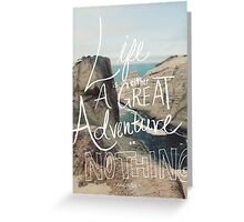 Great Adventure Greeting Card