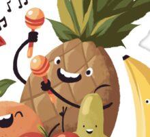 happy fruits Sticker