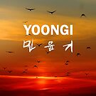 Yoongi (Suga) Phone Cover - Birds by ReadingFever