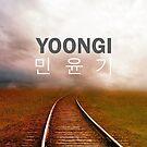 Yoongi (Suga) Phone Cover - Tracks by ReadingFever