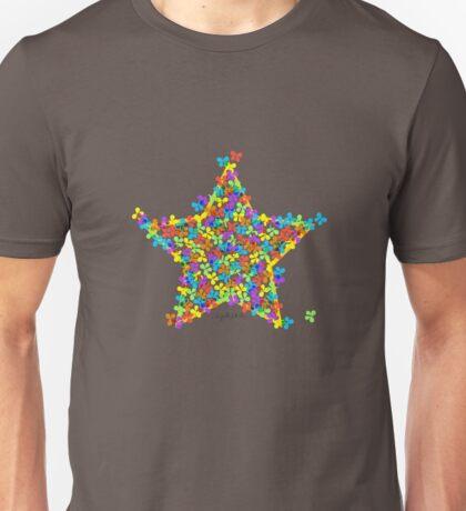 Hugged by Butterflies and Stars Unisex T-Shirt