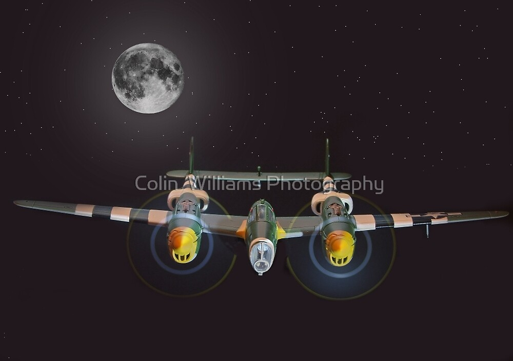 Night Mission  by Colin  Williams Photography
