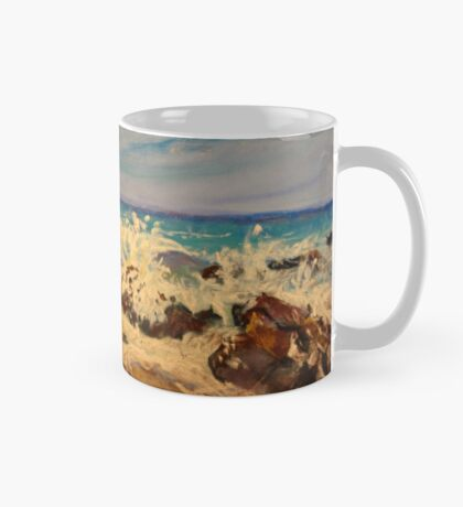Gull over the Pacific Mug