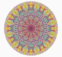 Candy Mandala Kids Tee