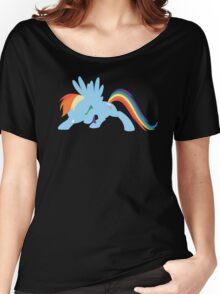 Rainbow Dash T-Shirt MLP Women's Relaxed Fit T-Shirt