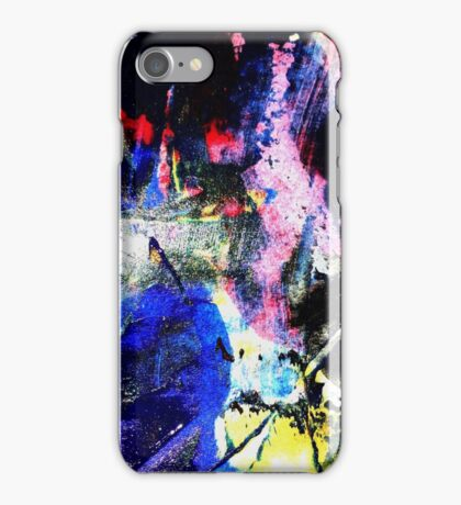 Black and Bright Abstract iPhone Case/Skin