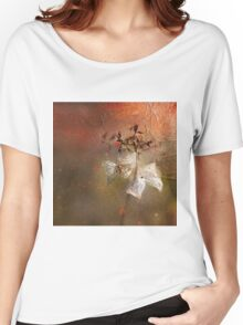 The Abstract World of Flowers Women's Relaxed Fit T-Shirt