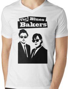 The Blues Bakers Mens V-Neck T-Shirt