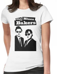 The Blues Bakers Womens Fitted T-Shirt