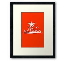 Sailing in Mallorca VRS2 Framed Print