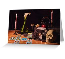 Traditional Occult  Greeting Card
