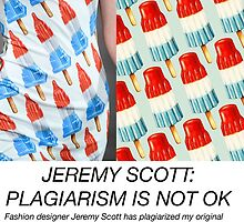 JEREMY SCOTT: PLAGIARISM by Kelly  Gilleran