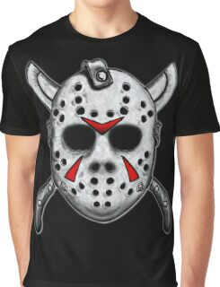 Friday the 13th Jason Mask Graphic T-Shirt