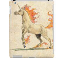 A Natural History: Rapidash iPad Case/Skin