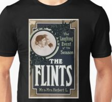 Performing Arts Posters Flints Mr Mrs Herbert L the laughing event of the season 0250 Unisex T-Shirt