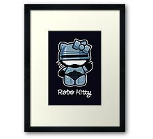 Robo Kitty Framed Print
