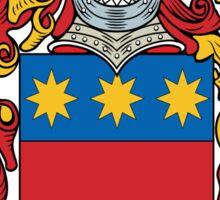 Agostini Coat of Arms (Italian) Sticker