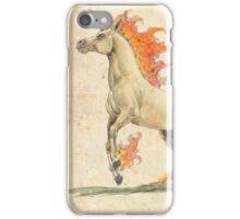 A Natural History: Rapidash iPhone Case/Skin
