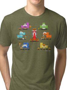 16-bit Old Tetriminos Tri-blend T-Shirt