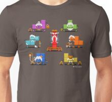 16-bit Old Tetriminos Unisex T-Shirt