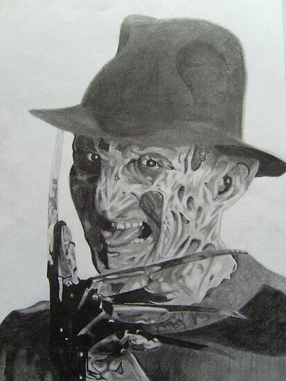 Old School Freddy by Courtney Pretlove