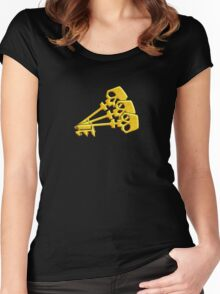 Borderlands Golden Keys Women's Fitted Scoop T-Shirt