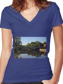 Bridge 2011 Women's Fitted V-Neck T-Shirt