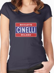CINELLI Women's Fitted Scoop T-Shirt