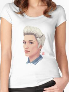 """Lol """"This is England 86"""" Women's Fitted Scoop T-Shirt"""