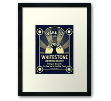Whitestone's Continental Breakfast Framed Print