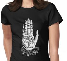 Mystic Hand Womens Fitted T-Shirt