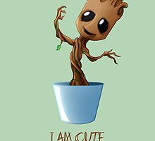 Guardians of the Galaxy - I am Cute by [g-ee-k] .com