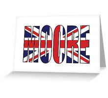 Moore (UK) Greeting Card