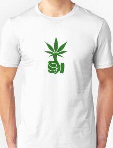 Green Thumb (Weed) VRS2 Unisex T-Shirt