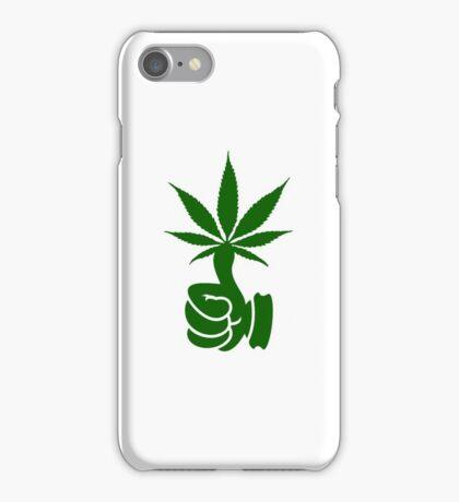 Green Thumb (Weed) VRS2 iPhone Case/Skin