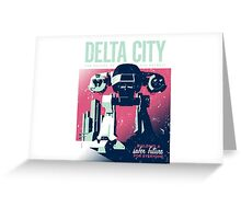 ED 209 Delta City Greeting Card