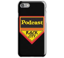 Podcast ROCK CITY Podcast! iPhone Case/Skin
