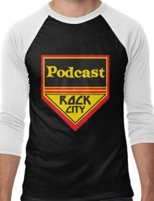 Podcast ROCK CITY Podcast! Men's Baseball ¾ T-Shirt