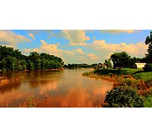 Assiniboine River...HDR Photographic Print